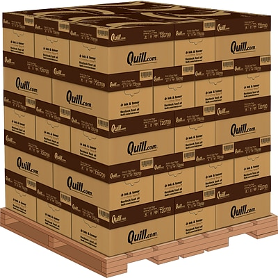 Quill Brand® Print & Copy Paper by the Pallet; 8-1/2x11, Letter Size