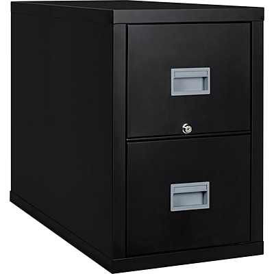 FireKing® Patriot Series Fireproof File Cabinets; 2-Drawer, Letter, Black