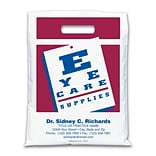 Medical Arts Press® Eye Care Personalized Large 2-Color Supply Bags; Eye Chart, Eye Care Supplies