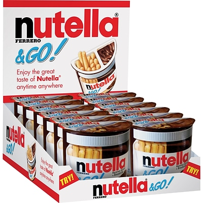 Nutella® & Go!; 1.8-oz., 12 Packages/Box