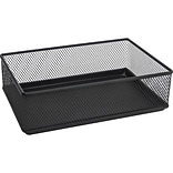 Quill Brand® Wire Black Mesh 9W Drawer Organizer