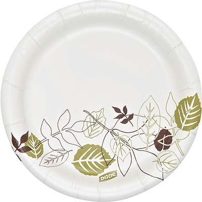 "Dixie Ultra Pathways Heavy-Weight Paper Plate, 6"", 250/Pack (SXP6PATH)"