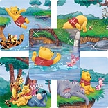 "SmileMakers® Pooh Glitter Stickers; 2-1/2""H x 2-1/2""W, 50/Box"