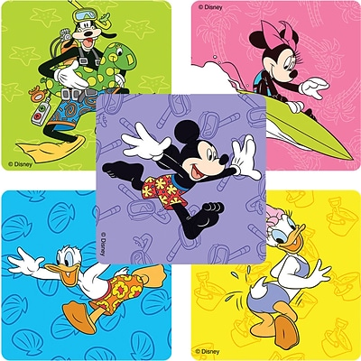 SmileMakers® Mickey And Friends Stickers; 100/Roll