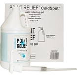 Point Relief™ ColdSpot™ Pain Reliever; 1 Gallon Gel Pump, 4/Case
