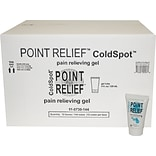 Point Relief™ ColdSpot™ Pain Reliever; 4oz. Gel Tube, 144/Case