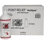 Point Relief™HotSpot™ Pair Reliever; 32oz. Gel Pump, 8/Case