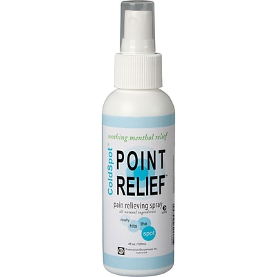 Point Relief™ ColdSpot™ Pain Reliever; 4oz. Spray