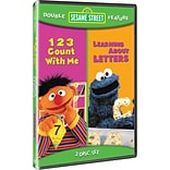 Warner Bros® 123 Count With Me/Learning About Letters, 2-Disc DVD