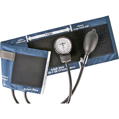 Standard Aneroid Sphygmomanometers; with Large Adult Cuff
