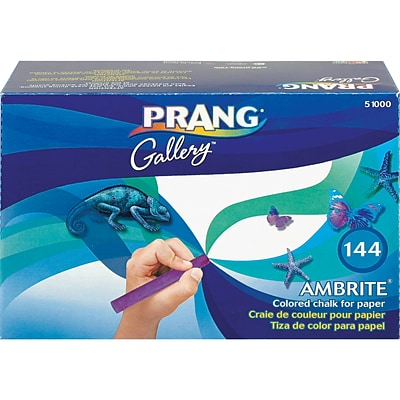 Prang® Ambrite™ Paper Chalk; Assorted, 144/Box
