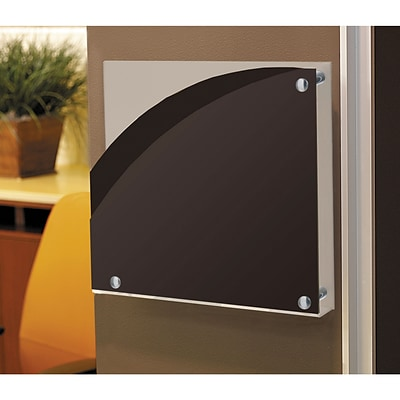Omnimed Inc.® Wall Pockets; Classic Designer, Smoke & White