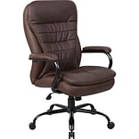 Brown B991 Series Leather Executive Chair