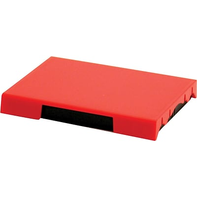 Self-Inking Stamp Replacement Pad for T4727; Red