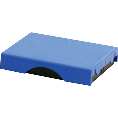 Self-Inking Stamp Replacement Pad for T4750; Blue