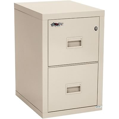 FireKing® Fireproof Compact Turtle Vertical Files, 2-Drawer