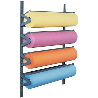Pacon® Multi-Roll Paper Rack; Horizontal, Wall-mount Style
