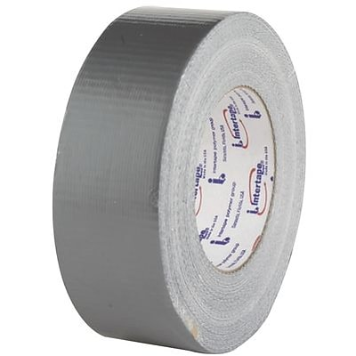 Intertape® Duct Tape, Grey, 2w x 60 yds
