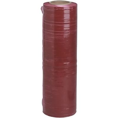 Color-Tinted Stretch Film; Red, 4 Rolls/Case