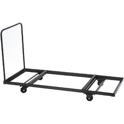 Correll® Flat Stacking Table Truck; 12-16 Rectangular Table Capacity Up To 72 Long