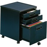 Studio RTA Black Mobile File Cabinets