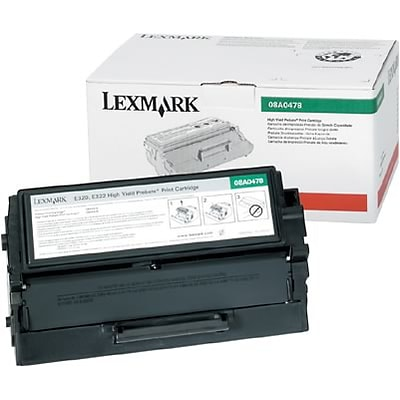 Lexmark™ 08A0477 High-Yield Toner Cartridge; Black