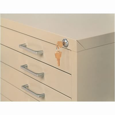 Safco® Lock Kit for the 10-Drawer File