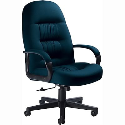 Global® Comfort & Style Executive Chair; Blue