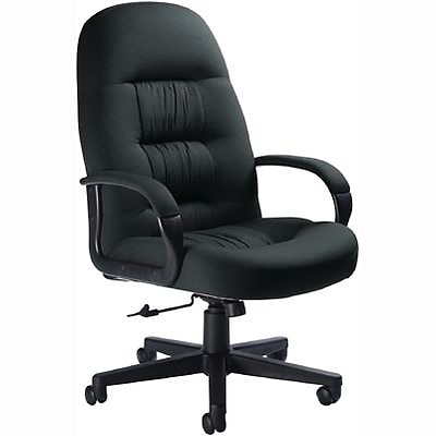Global® Comfort & Style Executive Chair; Charcoal