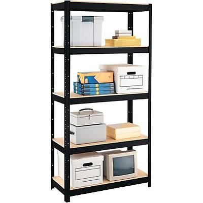 Hirsh Industries® Space Solutions™ Comercial Steel Shelving, 5-Shelf, 900-lb. Capacity