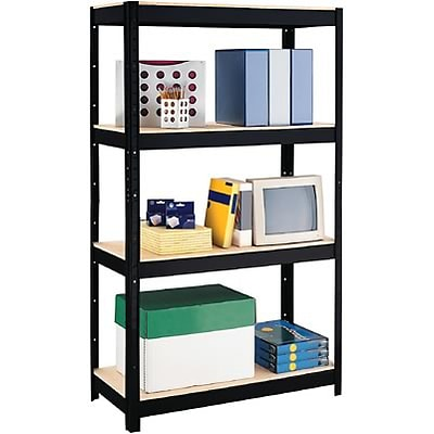 Hirsh Industries® Space Solutions™ Comercial Steel Shelving; 4-Shelf, 900-lb. Capacity