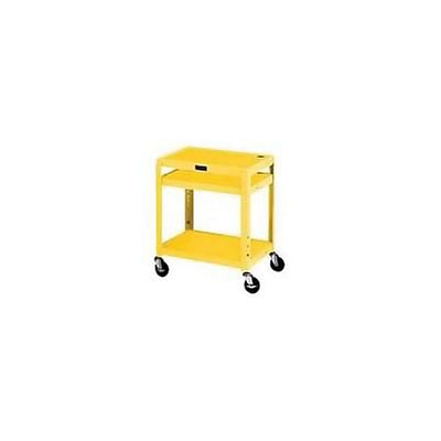 H. Wilson® Extra-Strong Colored Metal Utility Carts; Yellow