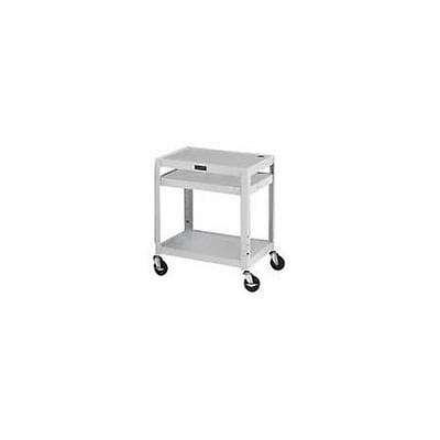 H. Wilson® Extra-Strong Colored Metal Utility Carts; Grey