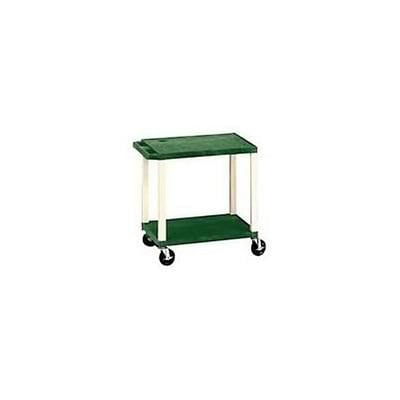 H. Wilson® 26H Tuffy Plastic Utility Carts; Hunter Green