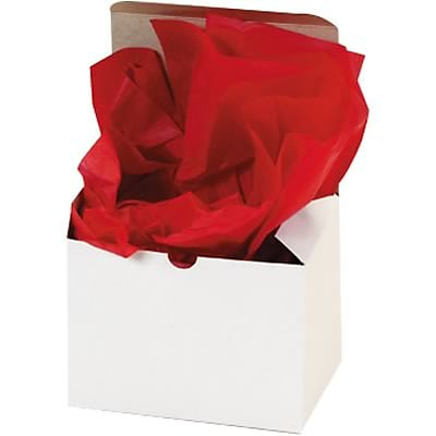 Tissue Paper; Red