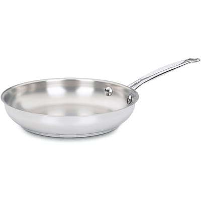 Chefs Classic Stainless 10 In. Open Skillet