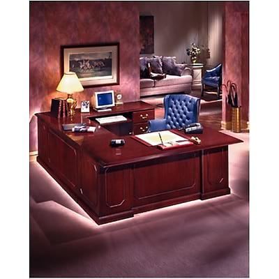 DMI™ Mahogany Governors Office Collection; Left Executive U Desk