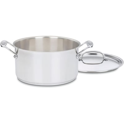 Chef's Classic Stainless 6 Qt. Stockpot With Cover
