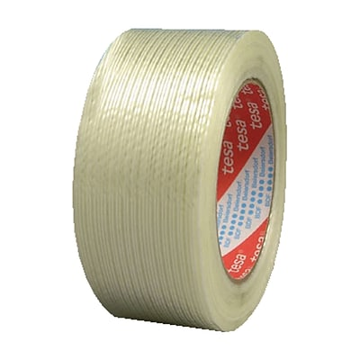 Tesa® Performance Grade Filament Strapping Tapes, 0.75 in X 60 yd