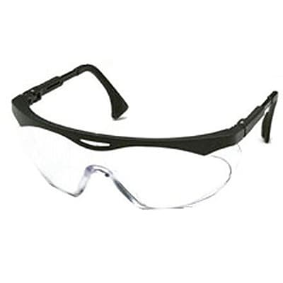 Sperian Skyper® Safety Spectacle, Polycarbonate, Wrap-Around, IR 5.0, Black