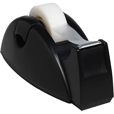Quill Brand® Contour Tape Dispenser; Black