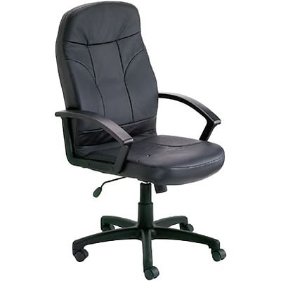 Lincolnshire Seating Platinum Leather High-Back Executive Chair