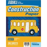 Quill 9x12  Assorted Color Construction Paper