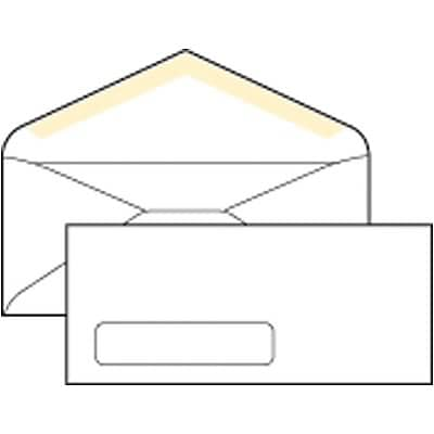 Quill Brand® Standard Business Single Left Window Envelopes, #10, 500/Box