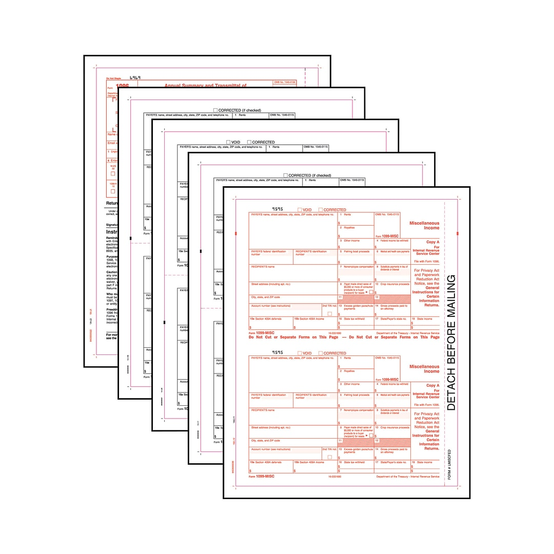 Tops 1099misc tax form kit 4 part white 8 12 x 11 50 sets this web site is intended only for use by us residents falaconquin