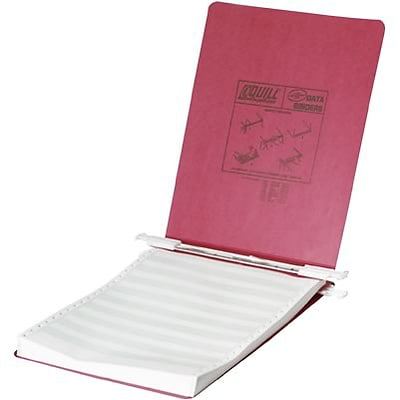 Quill Brand® Standard Ringless 9-1/2 x 11 Data Binders, Red, 5/Pack (711510)