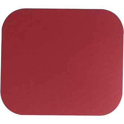 Quill Brand® Standard Mouse Pad; Red
