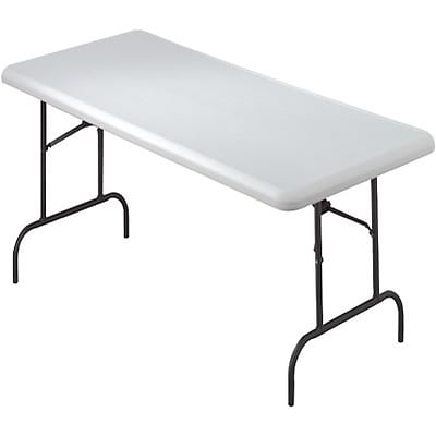 Iceberg® IndestrucTables TOO™ 1200 Series Folding Table; 60x30, Platinum