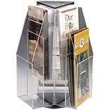 Safco® 2-Tier Literature Display; 6-Pocket, Pamphlet