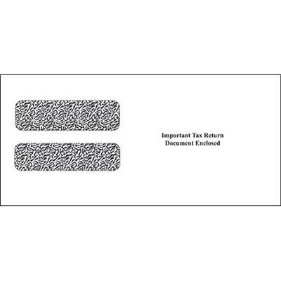 Laser Tax Form Envelopes w/W-2 Window